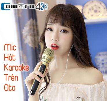 mic hat karaoke tren oto