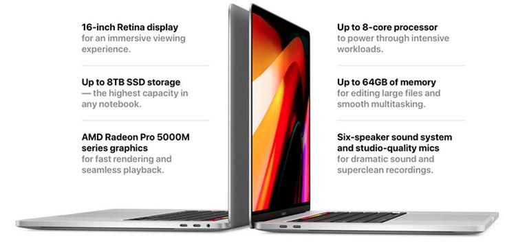 Apple Ra Mắt MacBook Pro 16 Inch: Từ Bỏ Bàn Phím Cánh Bướm, Thay Thế Bản 15 Inch, Giá Từ 2399 USD