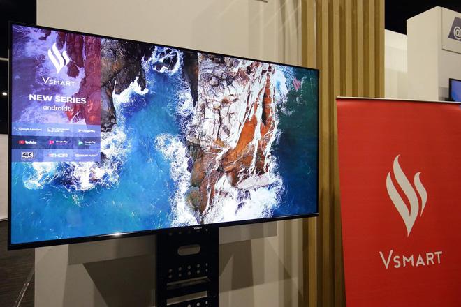 TV Vsmart Lộ Ảnh Thực Tế: 55 Inch Viền Mỏng, Chạy Android TV, Làm Bởi Người Việt