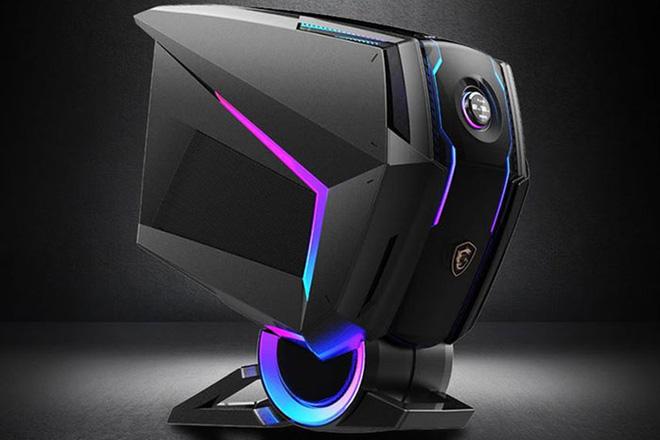 [CES 2020] MSI Trình Làng Chiếc PC Chơi Game Cực Khủng MEG Aegis Ti5 Tại CES, Nhìn Chẳng Khác Gì Cái Đầu Robot