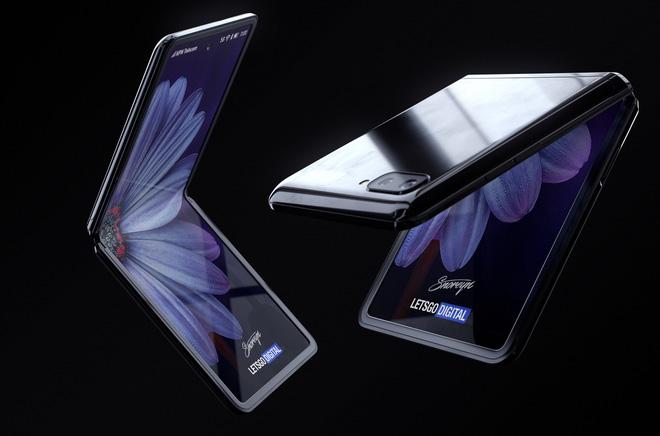 Chiêm Ngưỡng Samsung Galaxy Z Flip Sắp Ra Mắt Với Thiết Kế Gập Vỏ Sò