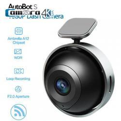 AutoBot S Ambarella S2L33M AR0238 Car DVR 1080P WiFi 152 Degrees Vide Angle Dashcam WDR GPS Night Vision Mini Video Recorder - Black
