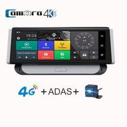 Camera Hành Trình Cao Cấp Dành Cho Oto Procam T98 Pro Mini,  Phiên Bản 8 Inch, Adas, Định Vị, Phát Wifi 4G, Dẫn Đường Full Tính Năng