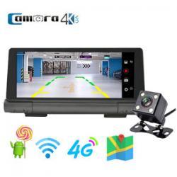 Camera Hành Trình - Định Vị - Quan Sát Từ Xa Procam T98 Hỗ Trợ Phát WIFI 4G - 2 Camera