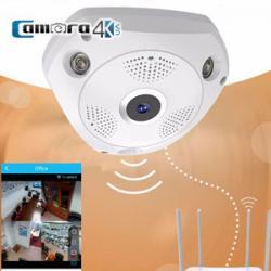 Camera Không Dây IP VR Panoramic 360 Quan Sát Toàn Cảnh Thông Minh