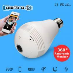Camera Siêu Nhỏ Dạng Bóng Đèn Hismart 360