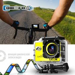 Camera SJCam 4000 WiFi LCD 2.0 Màu Đen Giá Rẻ Dành Cho Dân Phượt
