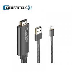 Cáp Chuyển Tín Hiệu Từ Lightning Sang HDMI Hagibis Chính Hãng Gía Rẻ