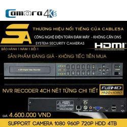 Đầu Ghi 4 Kênh 5A Smart NVR5A DSZ4