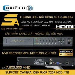 Đầu Ghi 8 Kênh 5A Smart NVR5A DSZ8