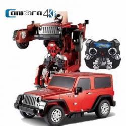 Jiaqi TT665 Ôto biến hình Robot điều khiển từ xa