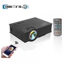 Máy chiếu WIFI UNIC UC46, chuẩn HD, 800 lumens
