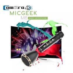 Mic Karaoke Kèm Loa Di Động Kết Nối Bluetooth Chính Hãng Micgeek M6