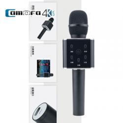 Mic Karaoke Kèm Loa Di Động Kết Nối Bluetooth Chính Hãng Tuxun Q7 Tiếng Trung