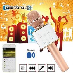 Mic Karaoke Kèm Loa Di Động Kết Nối Bluetooth Chính Hãng Tuxun Q7 USB