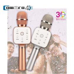 Mic Karaoke Kèm Loa Di Động Kết Nối Bluetooth Chính Hãng Tuxun Q7S USA