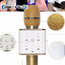 Mic Karaoke Kèm Loa Di Động Kết Nối Bluetooth Tuxun Q7 Tiếng Trung