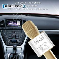Mic Karaoke Kèm Loa Kết Nối Bluetooth Chính Hãng Micgeek Q9 Phiên Bản Tiếng Trung