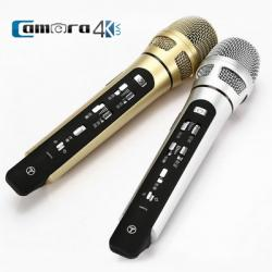 Mic Karaoke Oto Chính Hãng Tuxun K9 FM Transmitter Kết Nối Bluetooth Cực Hay