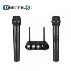 Micro Excelvan K38 Micro Bluetooth Hát Karaoke Không Dây Kết Nối Loa Di Động, Loa Oto