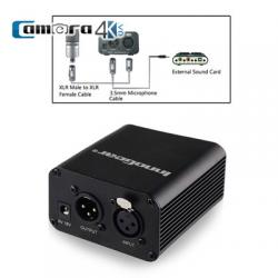 Nguồn Phantom 48V hỗ trợ livestream, karaoke