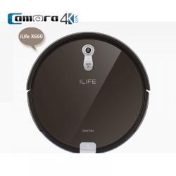 Robot Hút Bụi Lau Nhà Thông Minh Thế Hệ Mới ILife X660, Công Nghệ Cảm Biến 4D