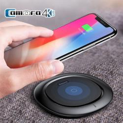 Sạc Không Dây Dành Cho iPhone 8, 8 plus, iphone X Chính Hãng Baseus UFO 2018