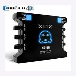 Sound Card XOX KS108, Thiết bị thu âm, Livestream, Karaoke