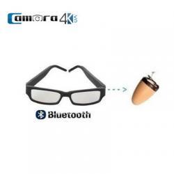 Tai Nghe Hạt Đậu Siêu Nhỏ Bluetooth Không Dây Ngụy Trang Mắt Kính Hàng Mỹ
