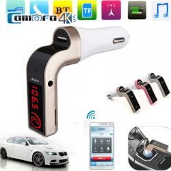 Thiết Bị Nghe Nhạc Oto Bluetooth Cho Xe Hơi CAR G7 Sử Dụng Sóng FM