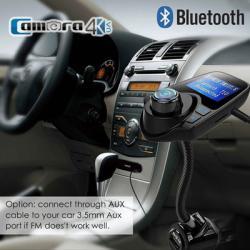 Thiết Bị Nghe Nhạc Bluetooth Cho Xe Hơi EGTONG Sử Dụng Sóng FM