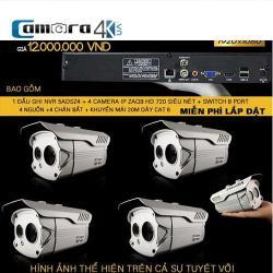 Trọn Bộ 4 Kênh 5A Smart NVR 5A DSZ4-ZAQ9