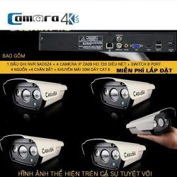 Trọn Bộ 4 Kênh Smart NVR 5A DSZ4 - ZA09
