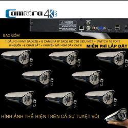 Trọn Bộ 8 Kênh Smart NVR 5ADASZ8