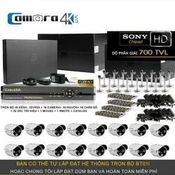 Trọn Bộ Smart DVR 5A 16 Kênh Full HD BT01I