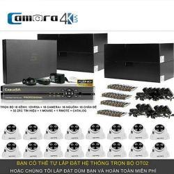 Trọn Bộ Smart DVR 5A 16 Kênh Full HD OT02