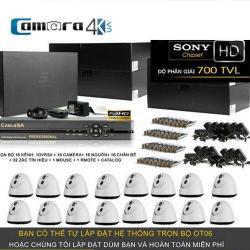 Trọn Bộ Smart DVR 5A 16 Kênh Full HD OT06