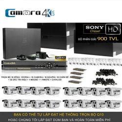 Trọn Bộ Smart DVR 5A 16 Kênh Full HD Q10
