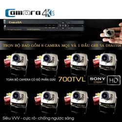Trọn Bộ Smart DVR 5A 8 Kênh Full HD MQ1