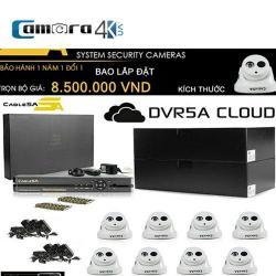 Trọn Bộ Smart DVR 5A 8 Kênh Full HD OT03