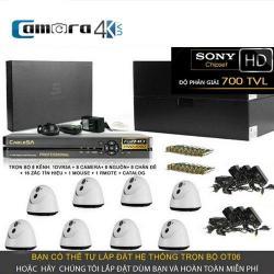Trọn Bộ Smart DVR 5A 8 Kênh Full HD OT06