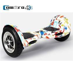 Xe Tự Cân Bằng Thông Minh Smart Balance Wheel Hismart SW10 Màu Trắng 10 inch