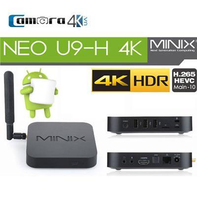 Android TV Box Minix Neo U9-H 4K Amlogic S912-H 8 Nhân 64bit