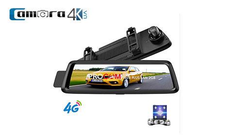 Camera Hành Trình Cao Cấp Dành Cho Oto Procam M98 10 Inch Ram 2GB, Adas, Định Vị, Phát Wifi 4G, Dẫn Đường Full Tính Năng, Xem Online Từ Xa