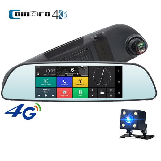 Camera hành trình Procam T98 Mirror 4G, Android 5.0, Camera kép