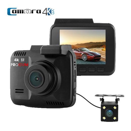 Camera Hành Trình WIFI Procam T4K Dual Lens, Camera Kép, Quay 4K