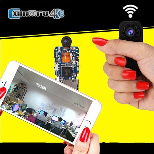 Camera IP Siêu Nhỏ Wifi Hismart GSD10 Hồng Ngoại 1080P