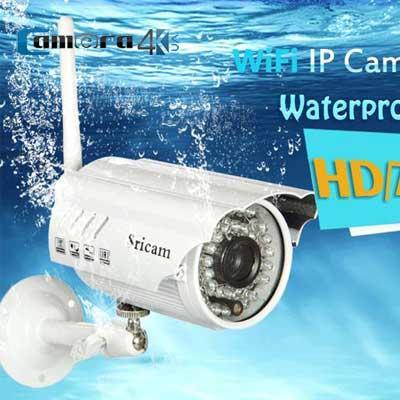Camera IP thông minh Wifi Sricam SP014 Onvif 720P