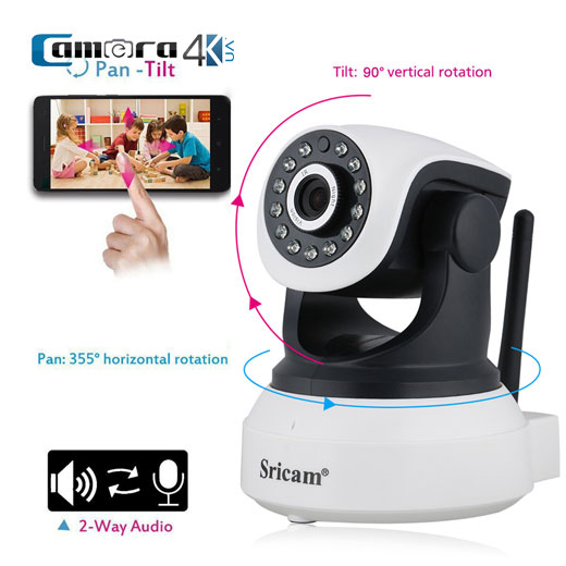 Camera IP Thông Minh Wifi Sricam SP017