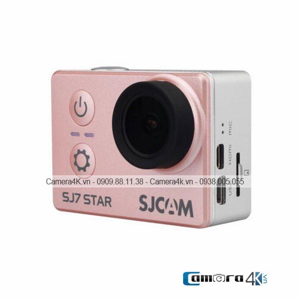 Camera Thể Thao SJCam SJ7 Wifi Action Camera 4K Màu Hồng Rose